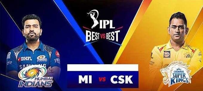 जानिए कौन जीतेगा आज का मैच ? CSK vs MI 23th October 2020