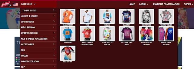 service printing tshirt, printing tshirt sendiri, tshirt custom made,