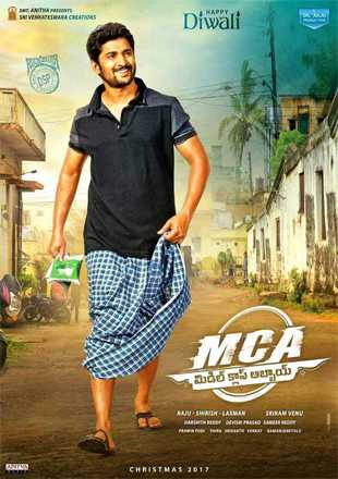 MCA Middle Class Abbayi 2017 Hindi Dubbed Movie Download HDRip 720p Dual Audio