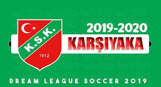 Karşıyaka SK 2019-2020 DLS19 / FTS Dream League Soccer 19 Forma Kits ve Logo