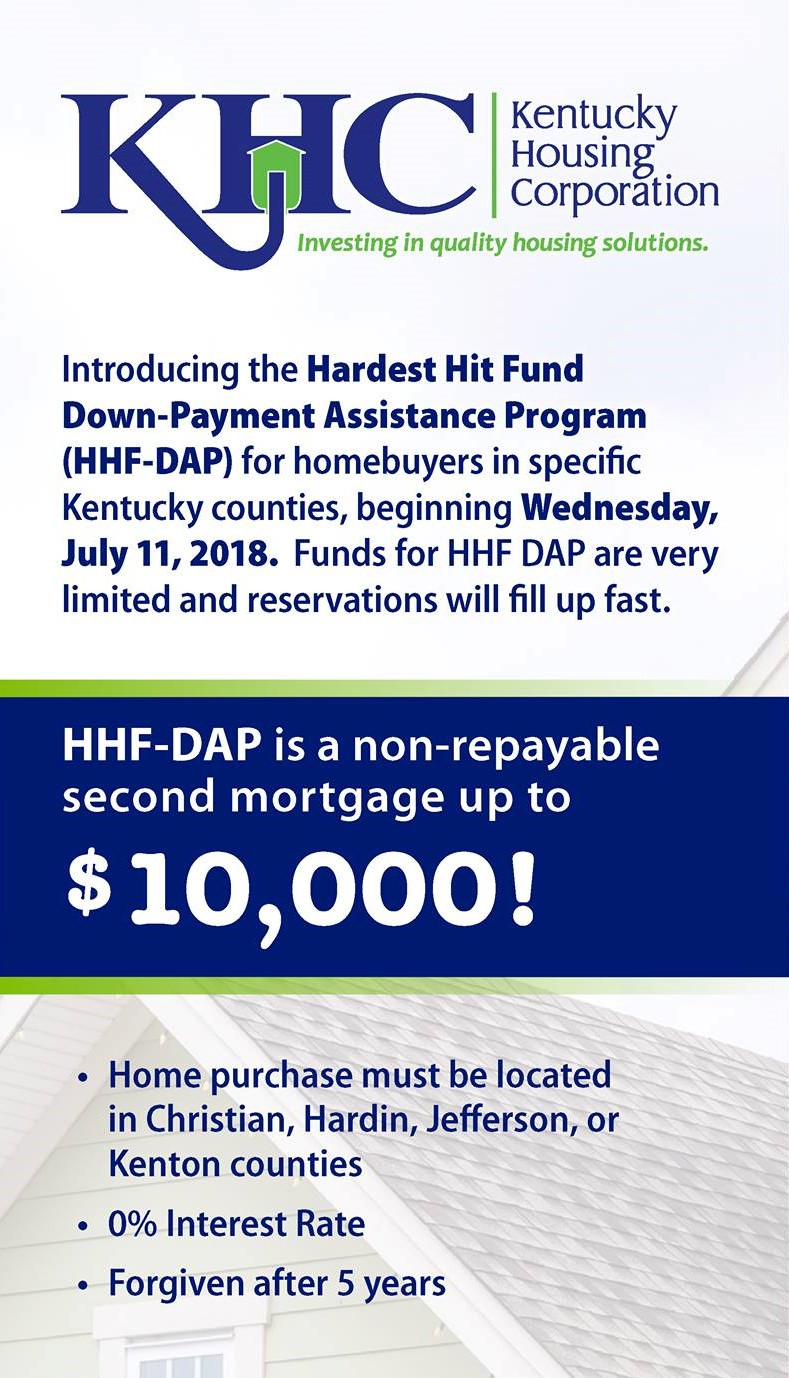 Kentucky First Time Home Buyer Programs For Home Mortgage