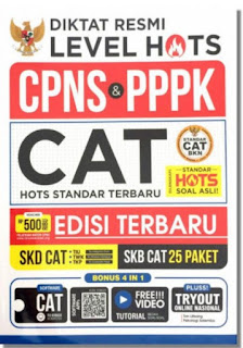 Buku Panduan Soal Cpns Pppk Best Seller Cat Computer