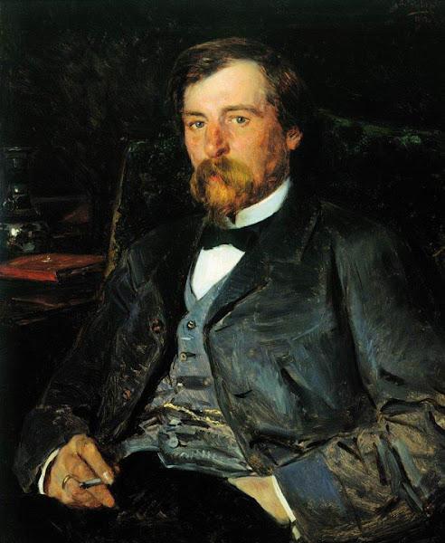 Маковский Владимир Егорович - Портрет художника Иллариона Михайловича Прянишникова. 1883