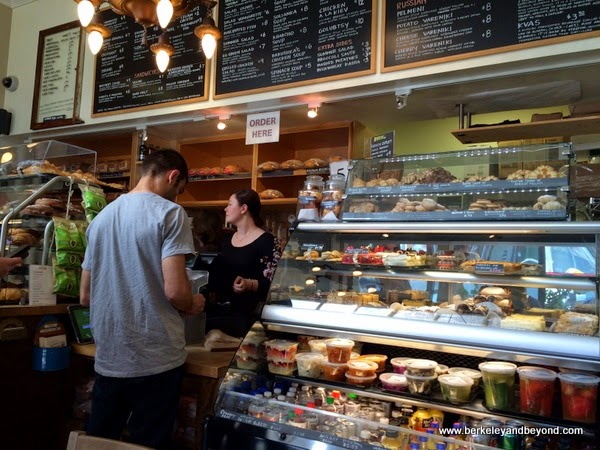 order counter at Cinderella Bakery & Cafe in San Franicsco