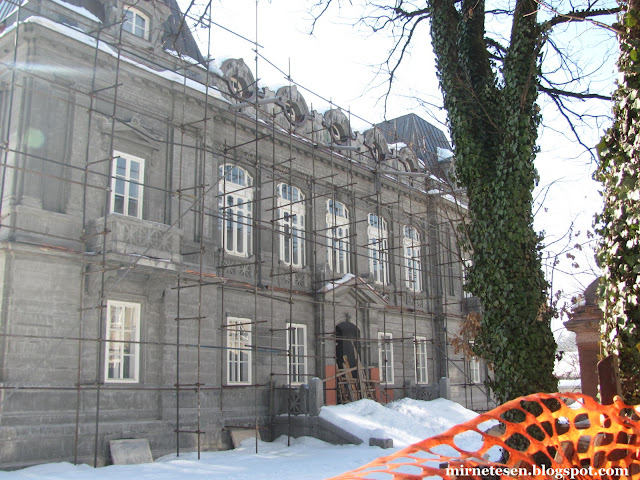 Бывшее здание Российского посольства в Цетине, Черногория