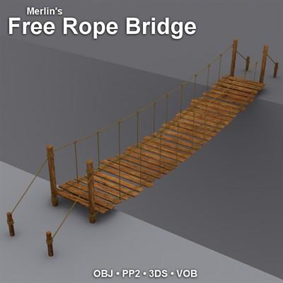 Bridges Old Rope Bridge