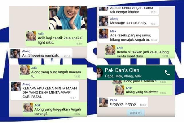 Video Iklan Raya Samsung Guna Aplikasi 'WhatsApp' Papar Pergaduhan Keluarga Pak Dan Tapi...