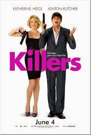 Killers:  Ashton Kutcher, Katherine Heigl, Poster | A Constantly Racing Mind