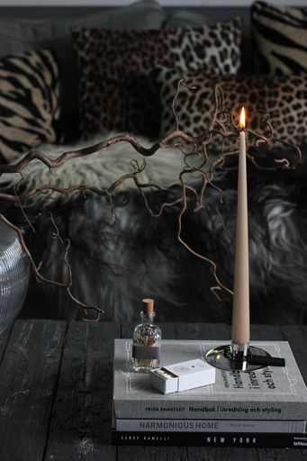 annelies design, webbutik, nätbutik, inredning, dekoration, vardagsrum, vardagsrummet, ljus, skultuna, ljusstake, ljusstakar, tavla, tavlor, mässing, zebra, zebramönster, zebramönstrade, svart, butik, tändstickor