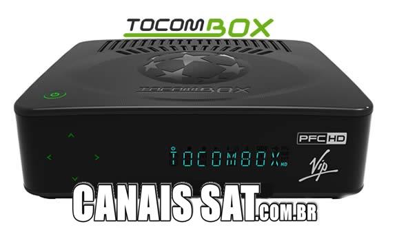 Tocombox PFC HD VIP Atualização V01.058 - 04/11/2020