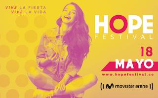 FESTIVAL HOPE 1 en Bogotá 2019 | Movistar Arena