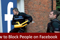 Block Person On Facebook