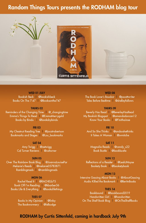 REVIEW: Rodham, Curtis Sittenfeld #BLOGTOUR graphic
