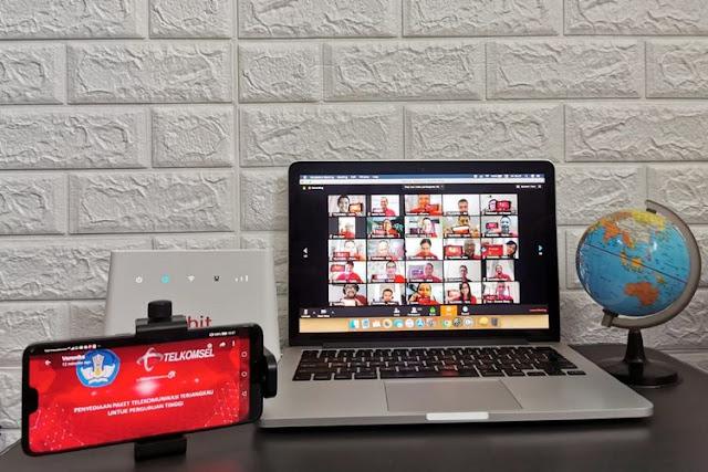 Kuota Internet Untuk Belajar 10 GB Hanya 10 Rupiah Dari Telkomsel, Berikut Cara Mendapatkannya