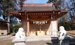 下溝八幡宮 社殿
