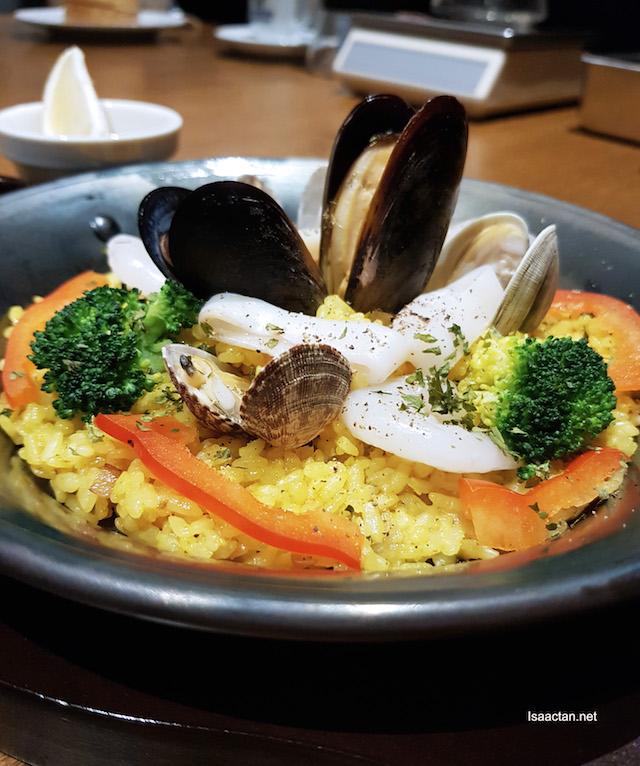 Seafood Paella - RM26.90