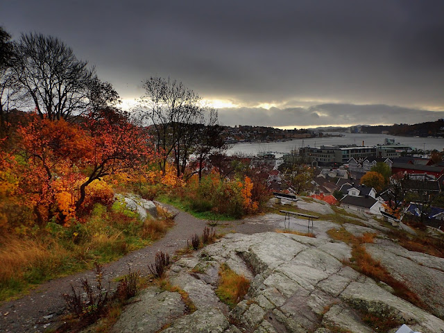 Widoki na miasteczko Sandefjord
