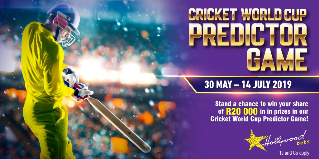 Cricket World Cup Predictor 2019 - Hollywoodbets