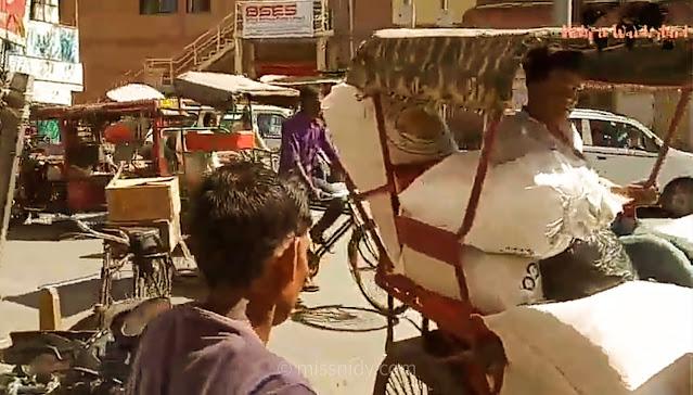 harga naik rickshaw di chandni chowk india