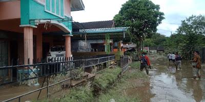 313 Warga Masih Mengungsi Akibat Banjir di Deli Serdang