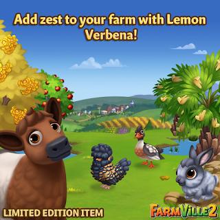 Add zest to your farm with Lemon Verbena