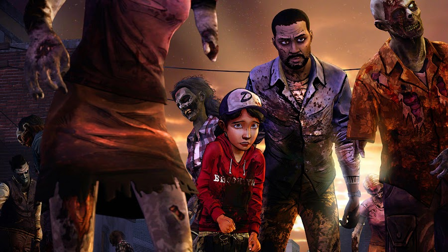 telltales walking dead lee everret clementine