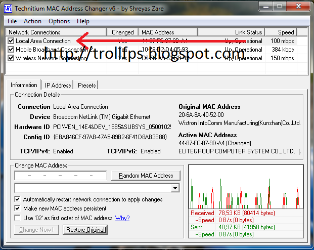 download free Tmac Changer - softsd-softcity
