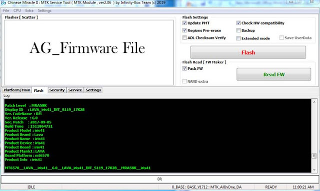 LAVA Iris 41 S119 CM2 Read Stock Rom Firmware Flash File