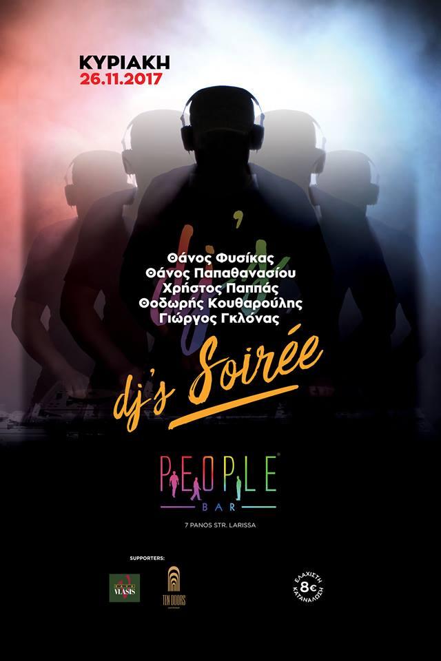 Την Κυριακή 26/11 το PEOPLE έχει σουαρέ με 5 ΗΟΤ DJ's