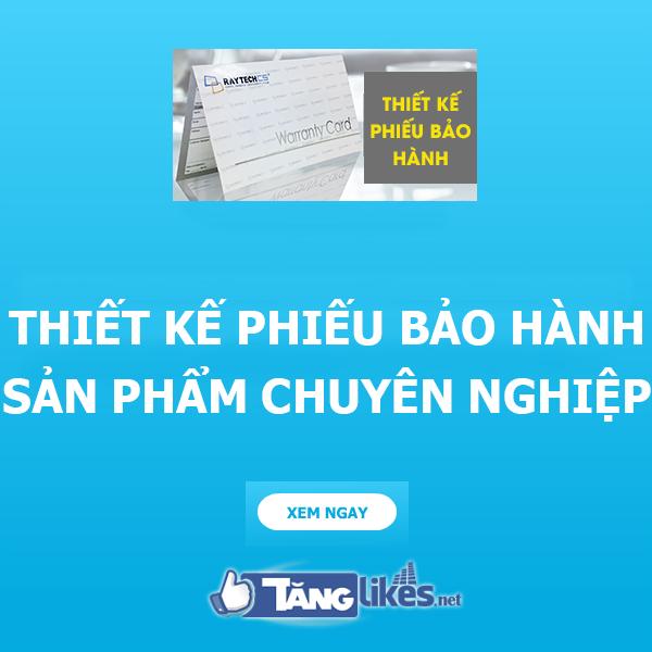 thiet ke phieu bao hanh