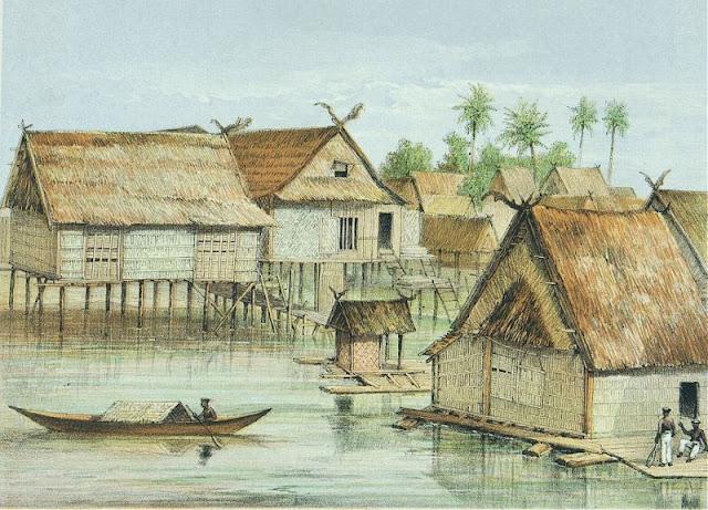 Litografi Kalimantan