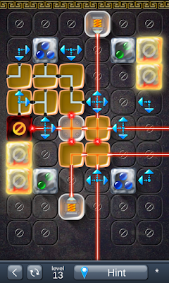 Solution for Laser Box - Puzzle (Royal) Level 13
