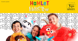 HAMLET MOSNTRUO en Teatro Hilos Magicos