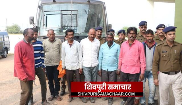 कोटा दोहरा हत्याकाण्ड: तीन और आरोपी गिरफ्तार, दो अभी भी फरार | Shivpuri News