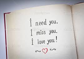 Texte d'amour j'ai besoin de toi