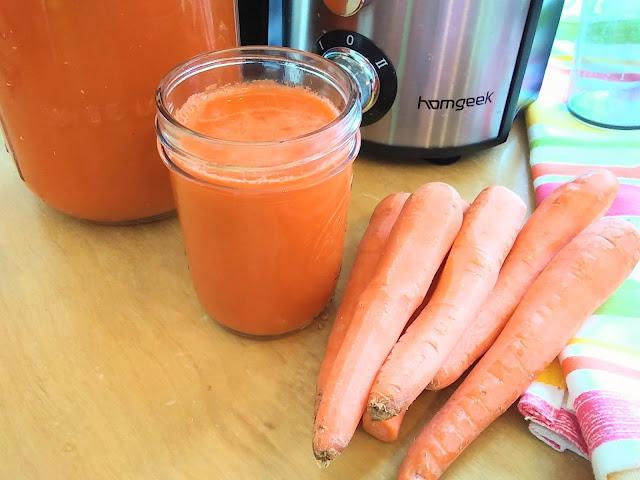 DIY Homemade Carrot Juice