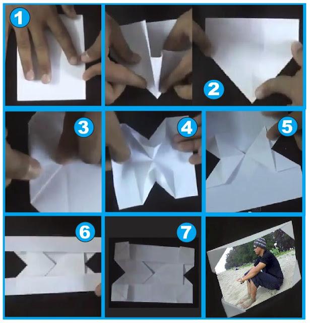 Tutorial Cara Membuat Bingkai Foto Dari Kertas