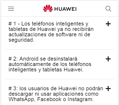 teléfonos Huawei que se actualizarán a Android Q