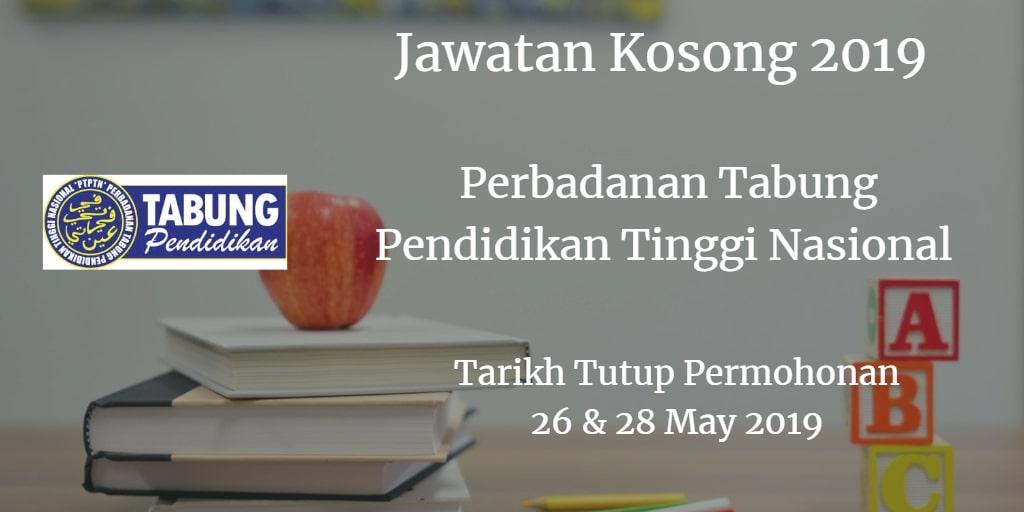 Jawatan Kosong PTPTN 26  & 28 May 2019