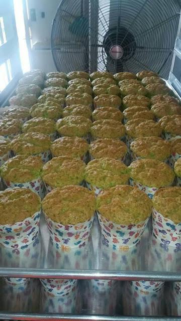 Resepi Muffin Pandan