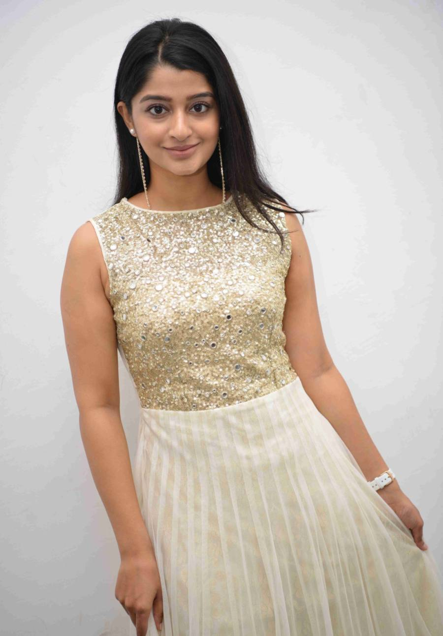 Aishani Shetty At Nam Gani B.Com Pass Film Audio Release
