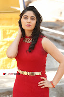 Telugu Actress Zahida Sam Latest Pos in Red Gown at RF Films New Movie Opening  0057.JPG
