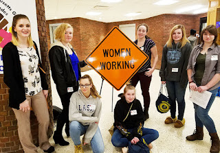 Tri-County Students Attend Girls in Trades Conference