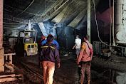 Pabrik Pengolahan Kayu Triplek CV Sadaku Perkasa Belik Pemalang Ludes Terbakar
