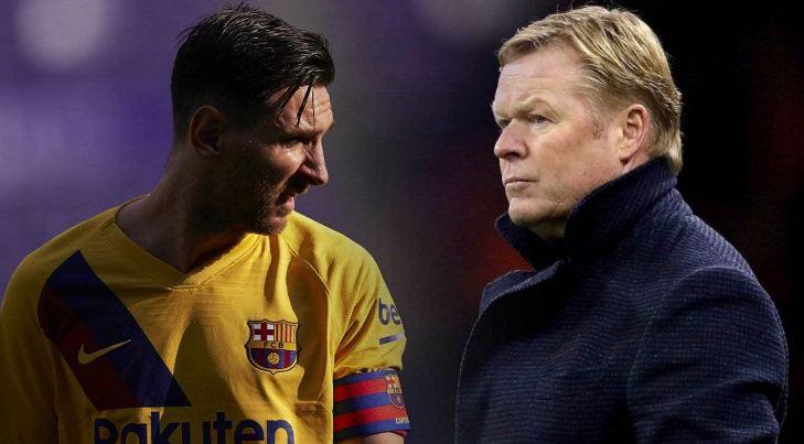 Koeman ke Messi: 'Keistimewaan Anda dalam Skuat Ini (Barca) Sudah Berakhir'
