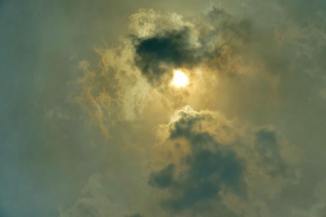 Rauch, Sonne, Dunst, Himmel, Feuer, stimmung