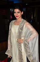 Samantha Ruth Prabhu cute in Lace Border Anarkali Dress with Koti at 64th Jio Filmfare Awards South ~  Exclusive 003.JPG