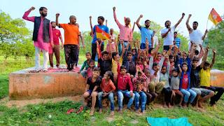 वनवासी एवं आदिवासी क्षेत्रों में योग शिविर का किया गया आयोजन   #NayaSaberaNetwork