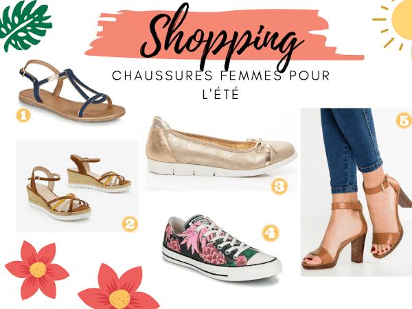 Shopping : chaussures femmes pour l'été !