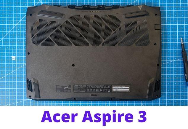 Acer Aspire 3 A317 back